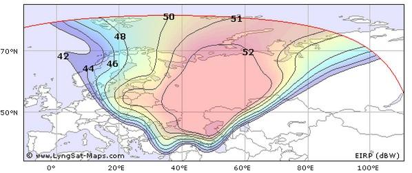 Карта распространения сигнала