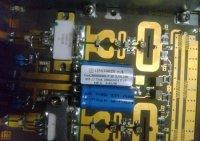 Схема блока усилителя передатчика DVB-T T2 на ВЧ транзисторах Philips BLF2045 BLF861A